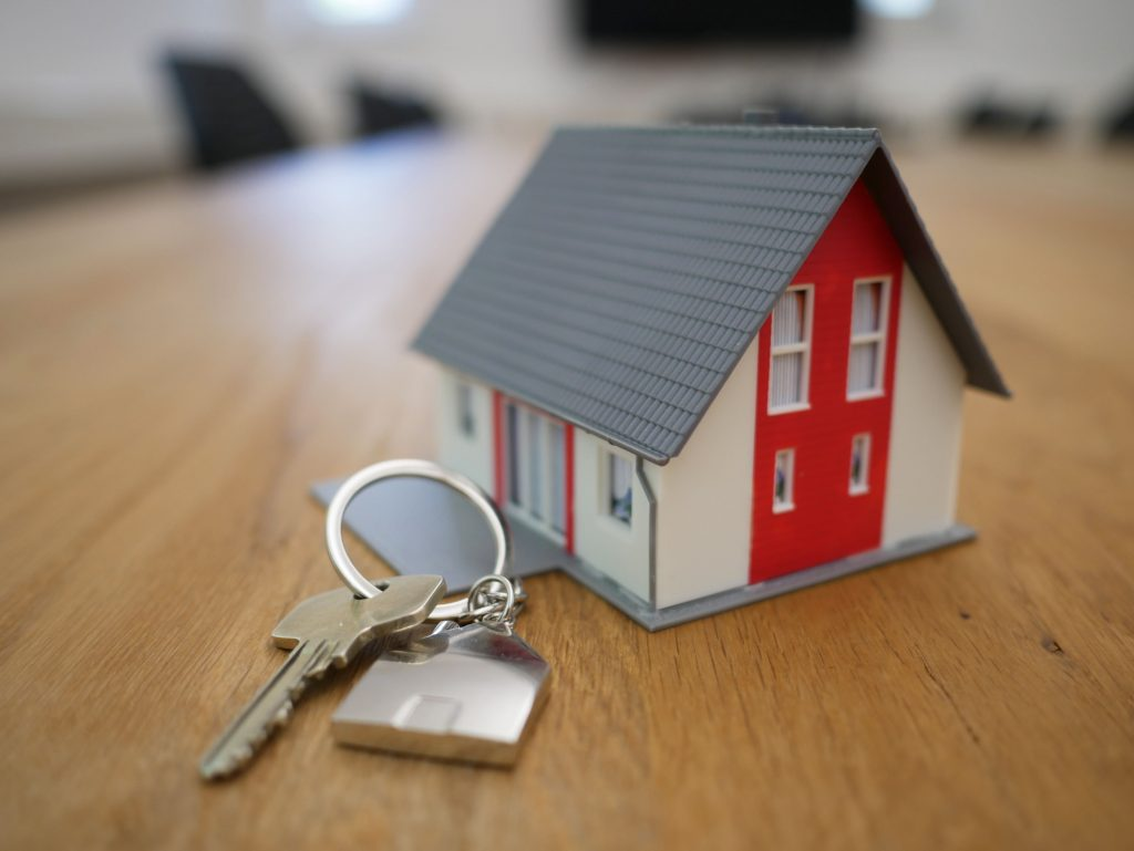 toy house with keys