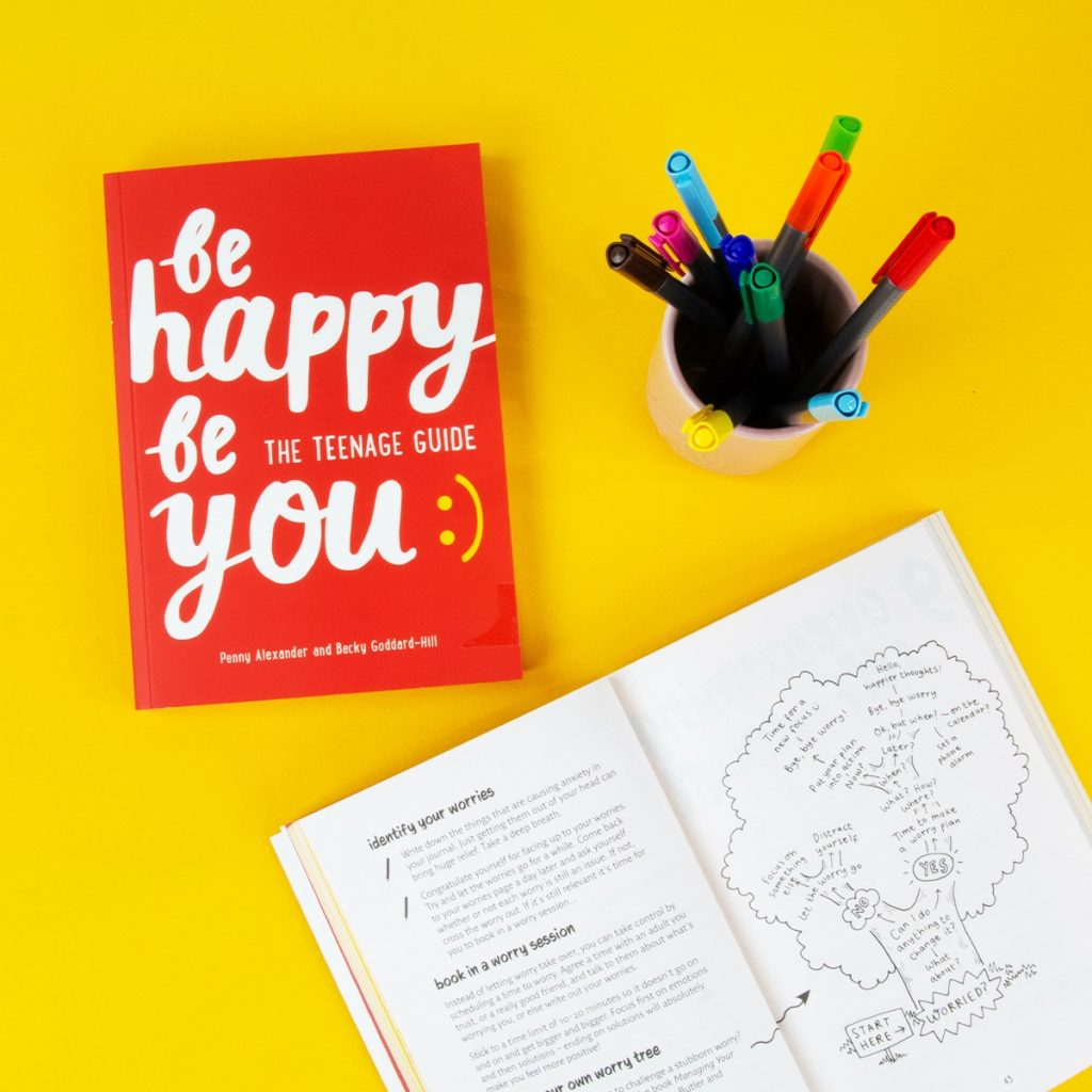 be happy be you book