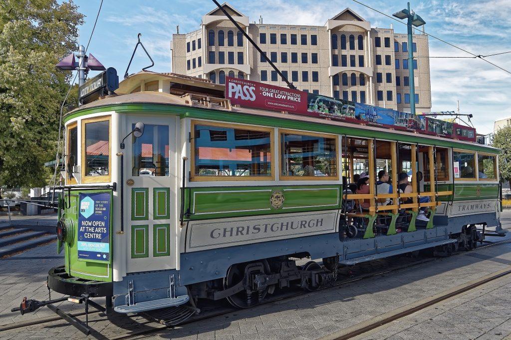 christchurch new zealand tram