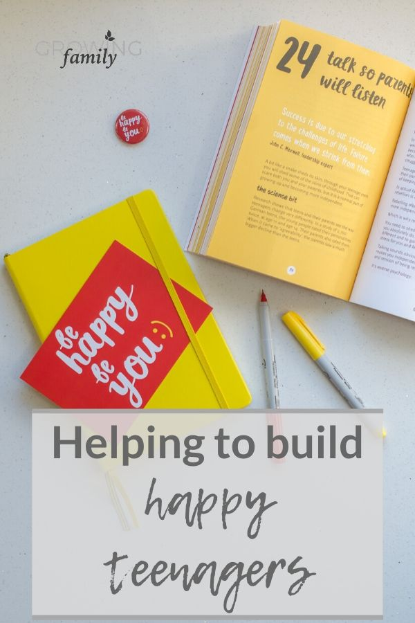 Reviewing 'Be Happy Be You', a book that helps build happy teenagers via practical activities that boost happiness, build confidence and support wellbeing.
