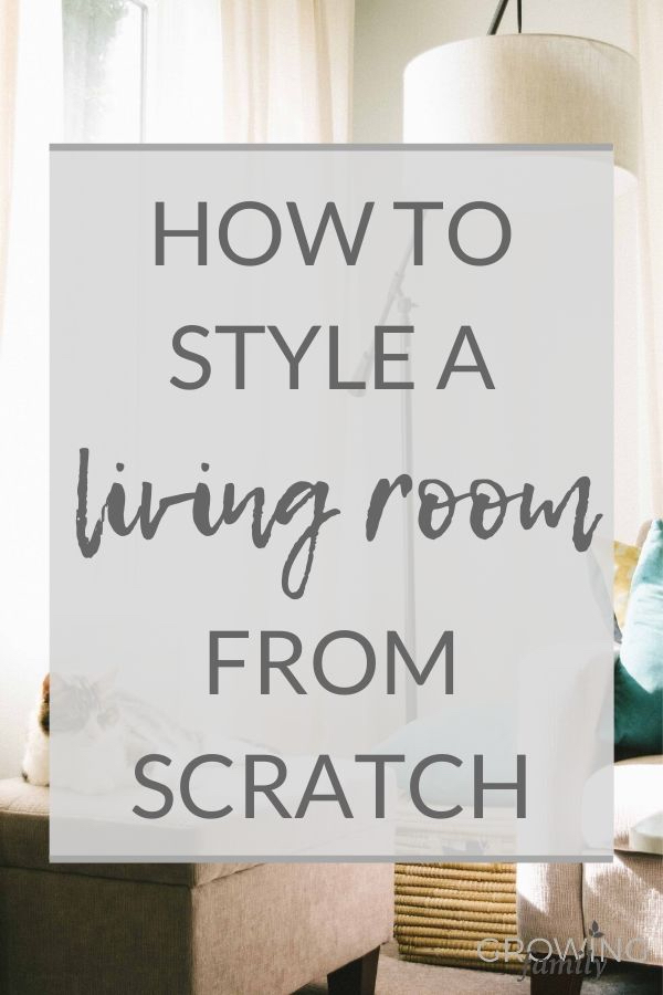 Moving into an unfurnished home? Here's how to style a living room from scratch and create a practical, stylish space for the whole family to enjoy.