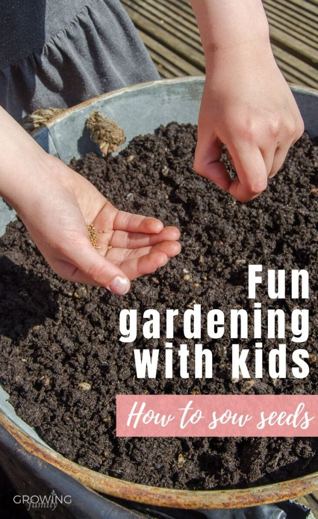 Seed sowing with kids isn't complicated, but there are a few things you can do to make it fun and also more successful. Here's how to sow seeds with kids.