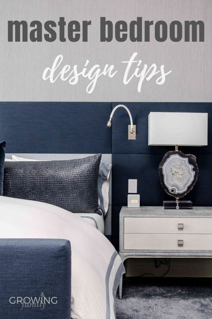 Looking for inspiration for your master bedroom renovation? These design tips will help you turn your bedroom into a rejuvenating retreat.