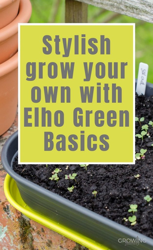Like the idea of stylish grow your own? Check out our review of the Elho Green Basics range of space-saving grow-your-own products that also look good.