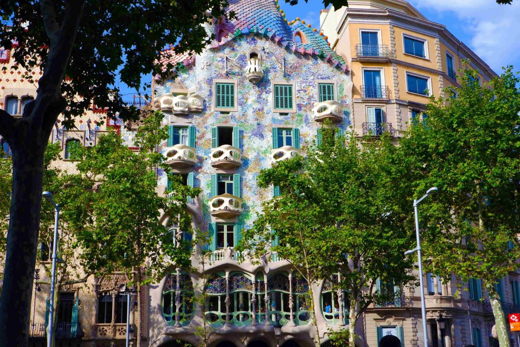 barcelona spain gaudi architecture