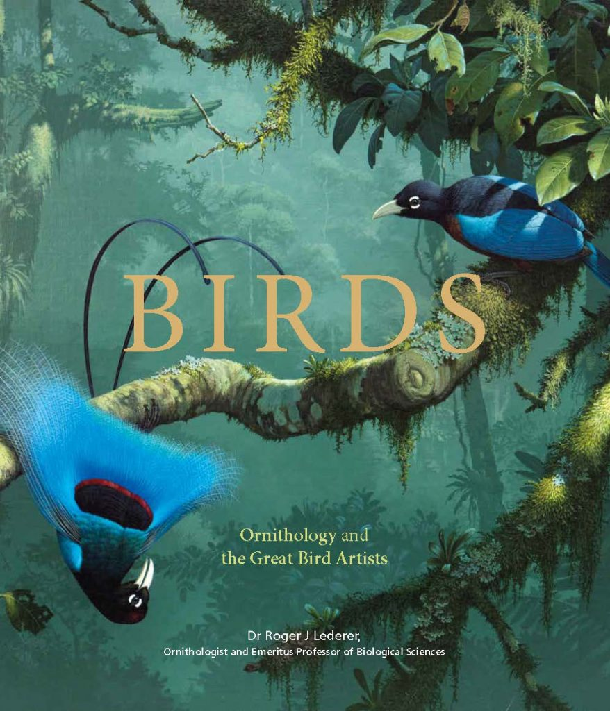 nature books Birds: Ornithology and the Great Bird Artists