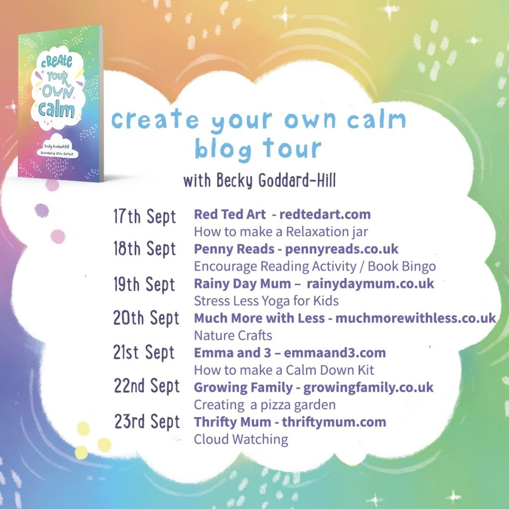 Create Your Own Calm book tour