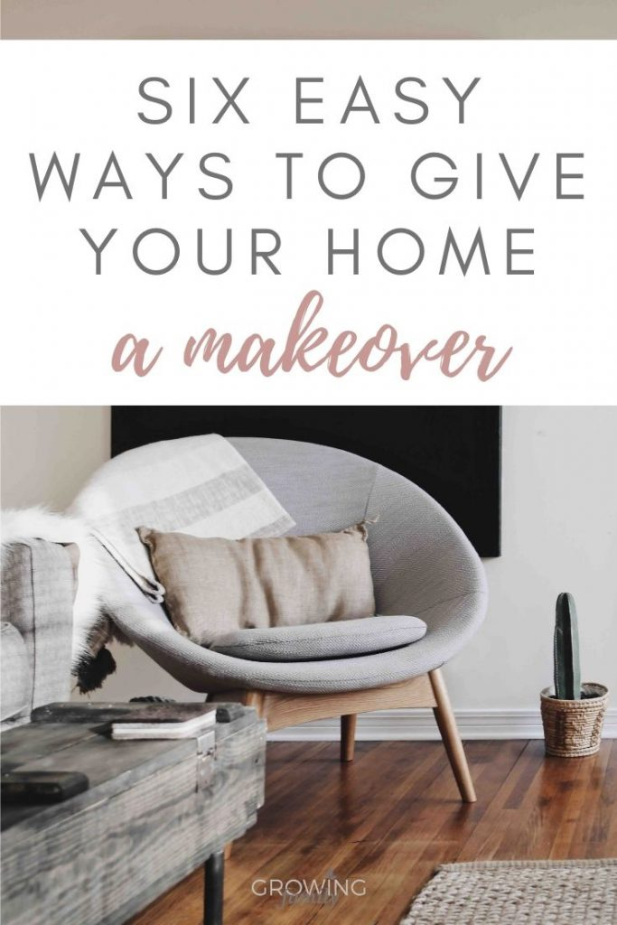 Is your home in need of a makeover?  Give it a new lease of life with these six easy, low-cost ways to revive your home.
