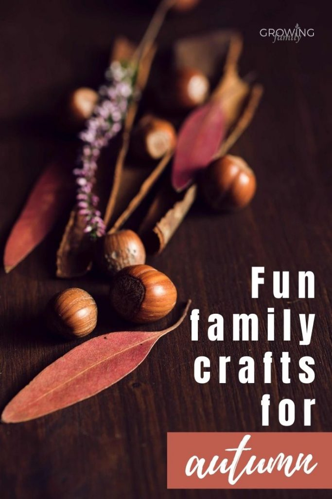 When autumn arrives, we usually start to spend more time indoors, so here are some fun autumn crafts for all the family to enjoy.