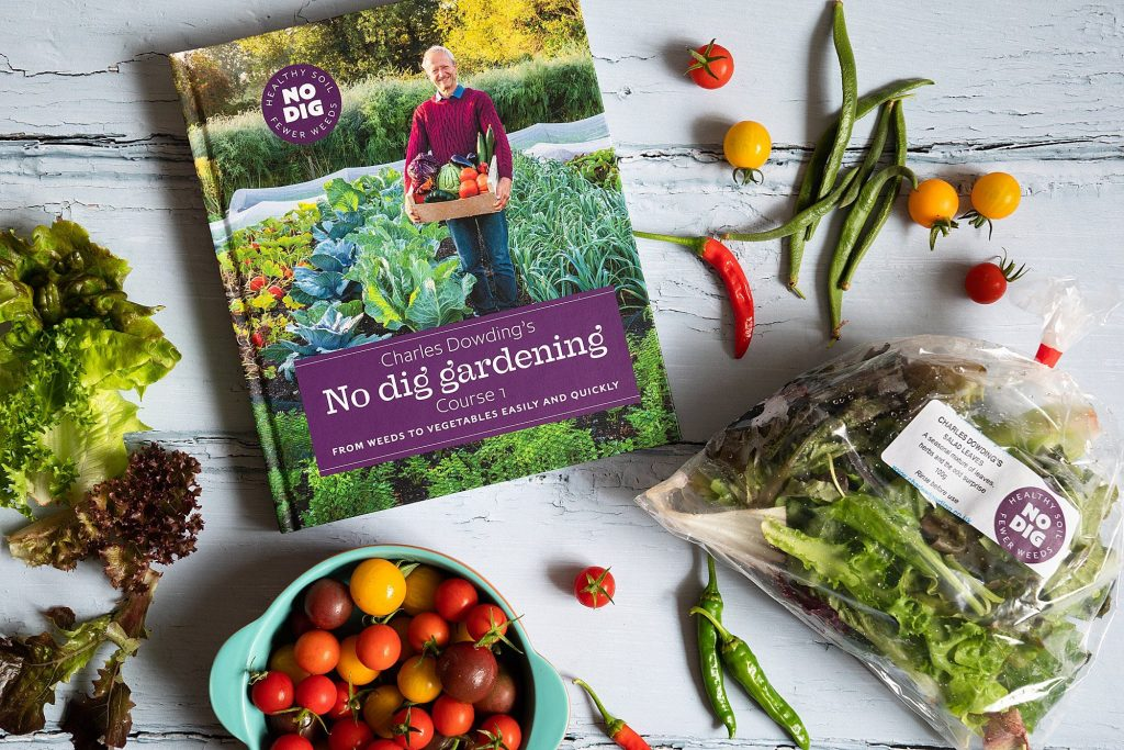 Charles Dowding No Dig Gardening book