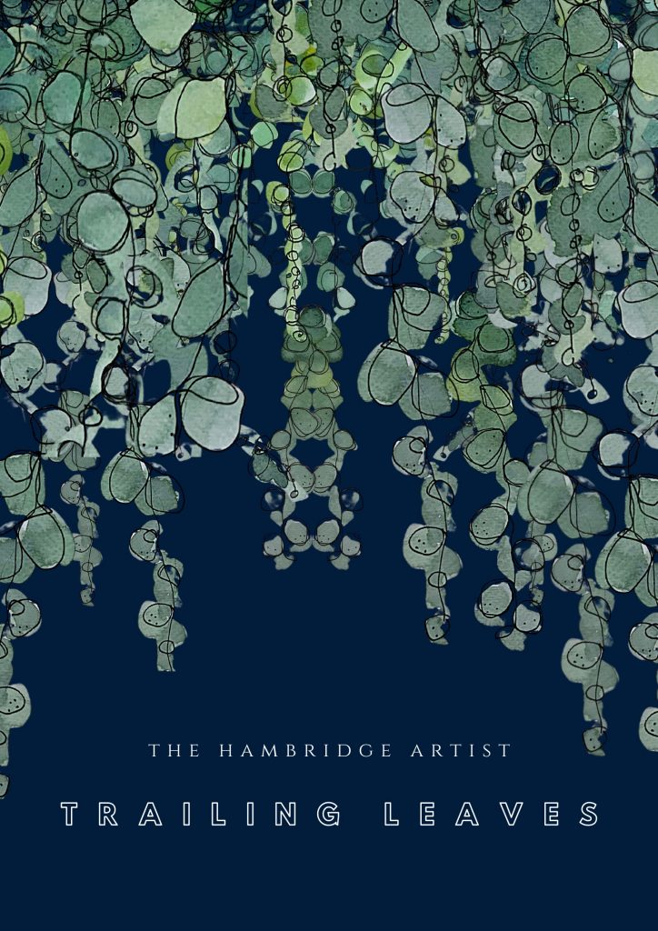 gifts for the home - the hambridge artist trailing leaves print