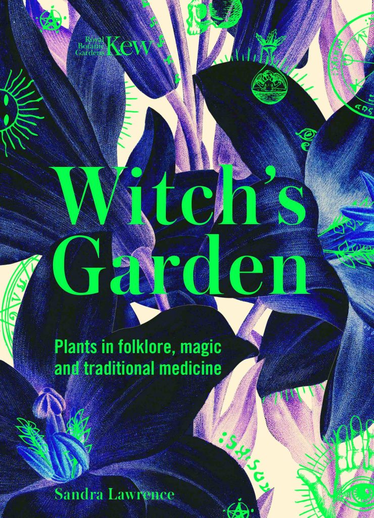 gifts for gardeners - kew witch's garden book