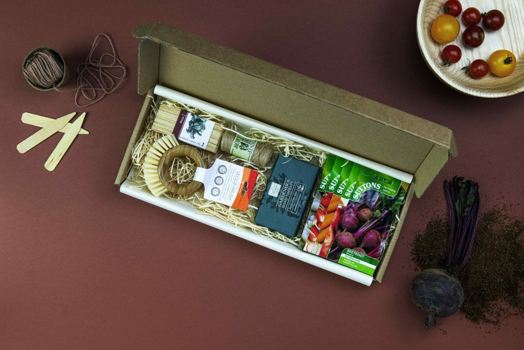 gifts for gardeners - suttons vegetable garden letterbox gift set