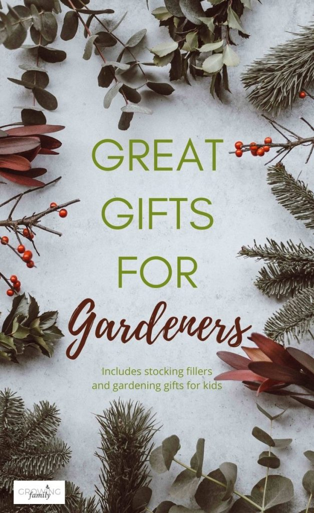 Looking for gifts for gardeners? This gift guide has lots of inspiration, including stocking fillers and gardening gift ideas for kids.