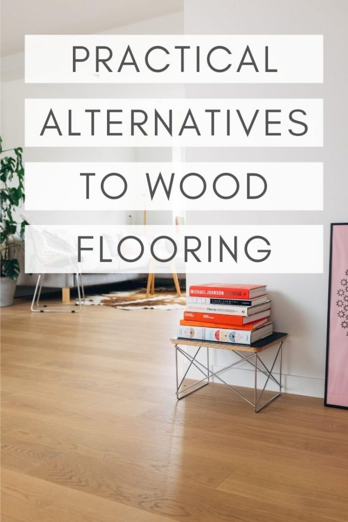 Like the look of wood flooring, but not the hassle of taking care of it? Check out these practical alternatives to wood flooring.