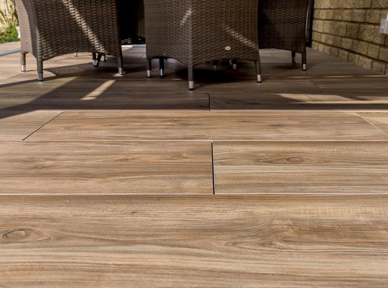 alternatives to wood flooring - wood effect porcelain tiles