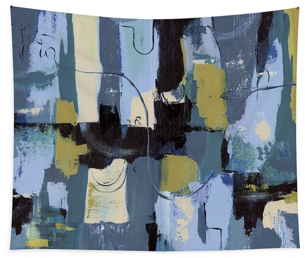 fine art america spa abstract wall tapestry