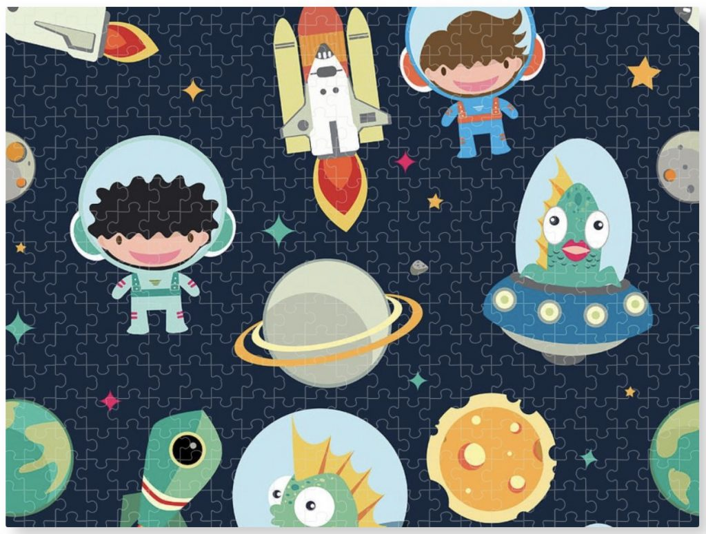 kids space jigsaw puzzles