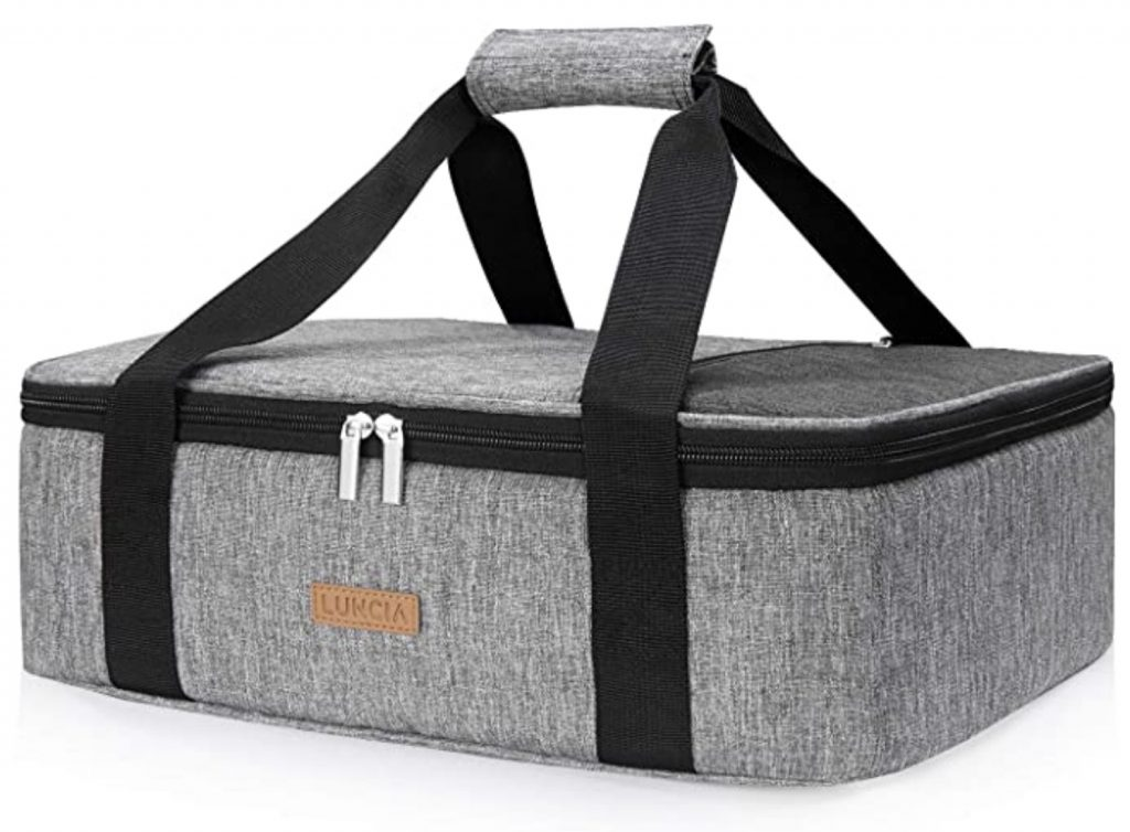 lifewit home essentials insulated casserole carrier