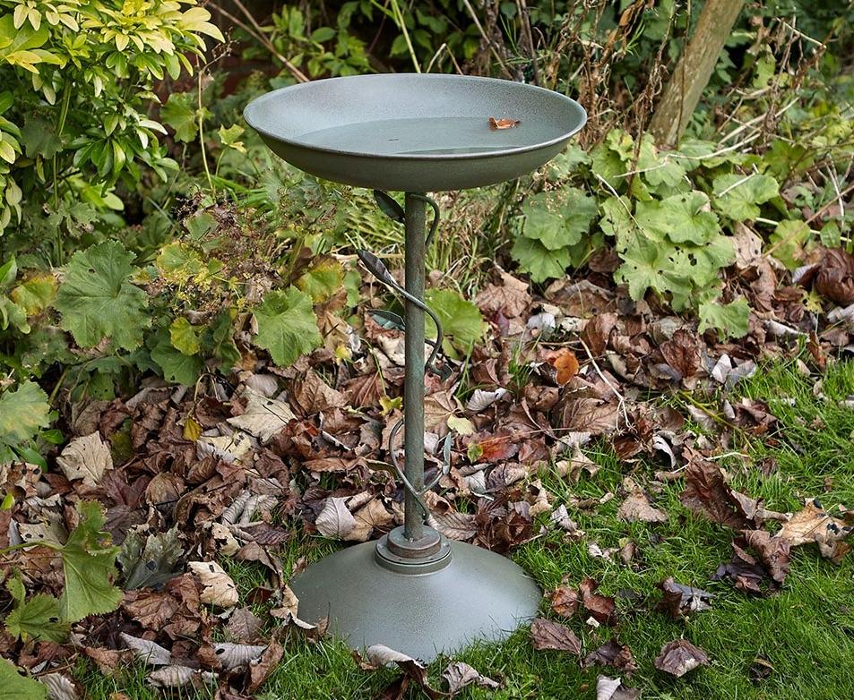 peckish secret garden decorative bird bath