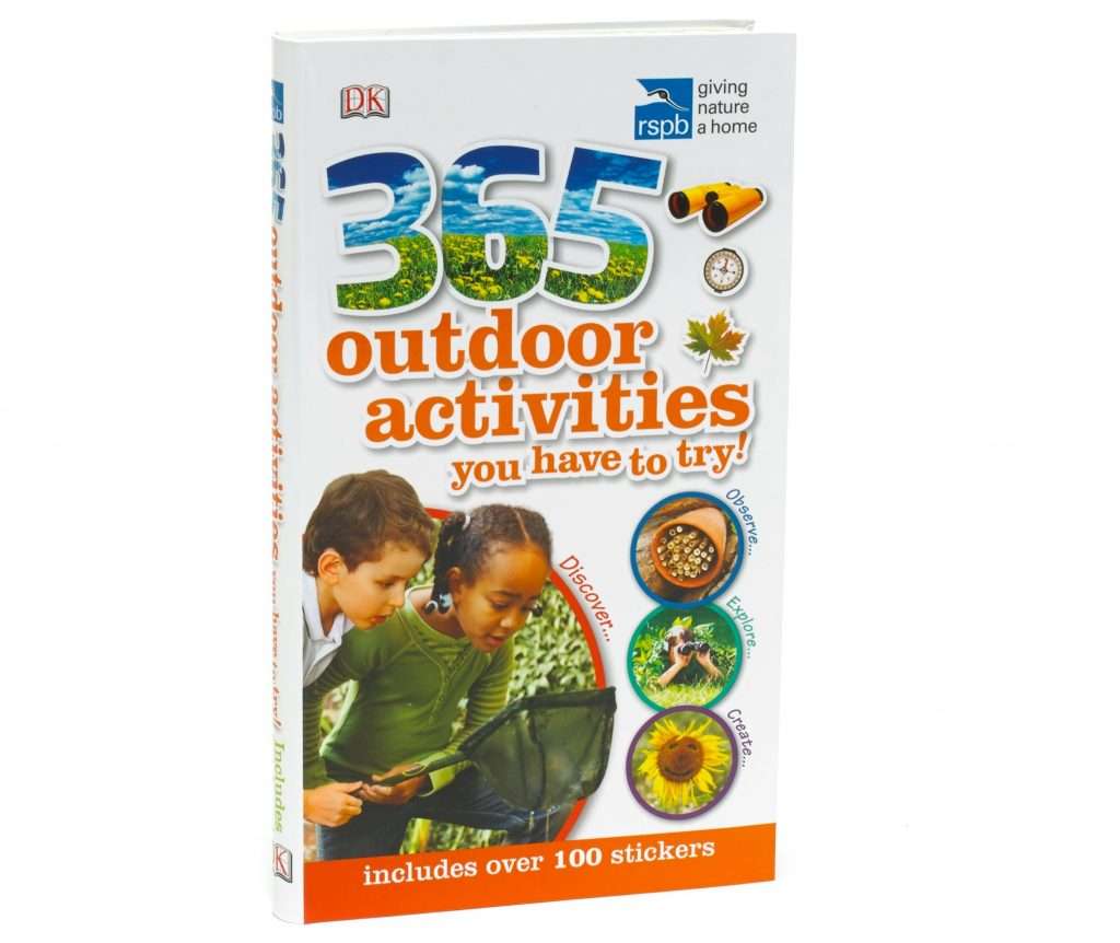 gifts for outdoors fans - 365 outdoors activities book
