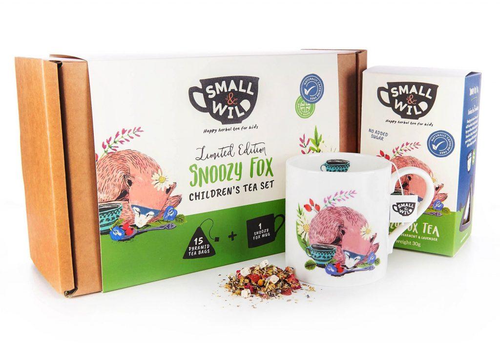 gifts for tweens - small & wild snoozy fox tea set