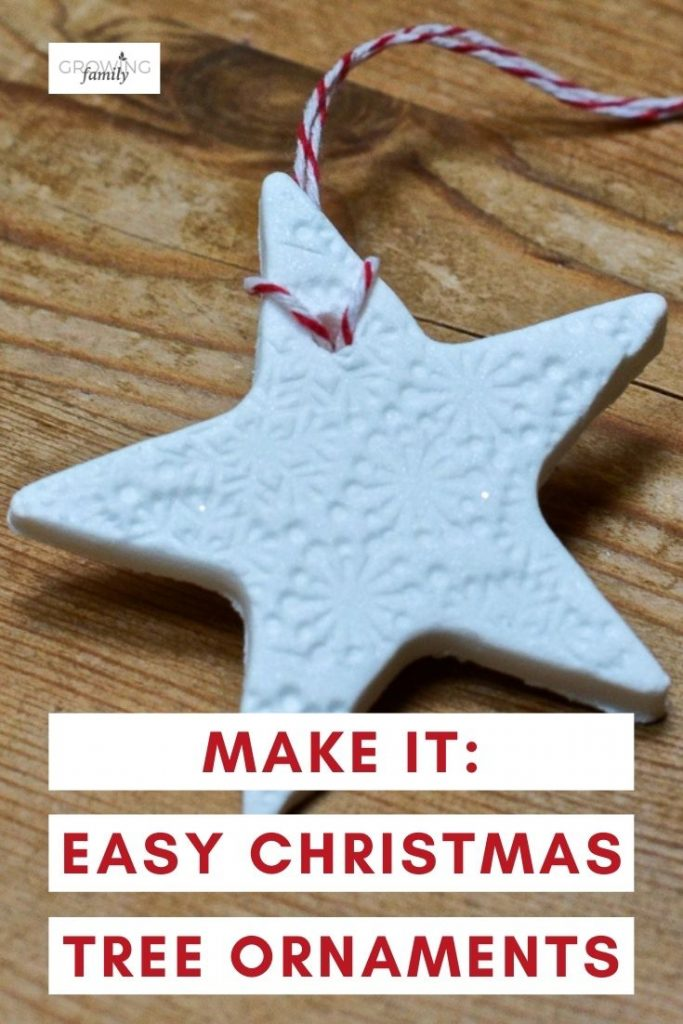 Homemade Christmas crafts: how to make DIY christmas decorations from baking soda dough. An easy handmade Christmas ornaments project that kids will love.
