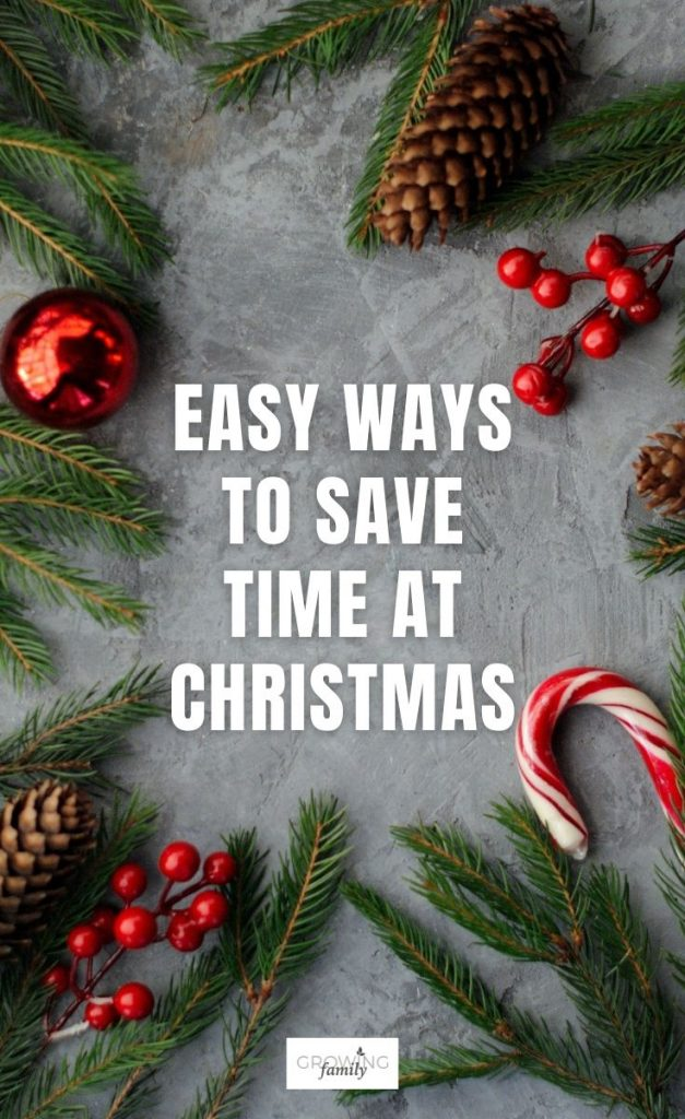 If you'd like to make Christmas less stressful and more enjoyable, the key is to save time where you can.  Check out these easy ways to do it.