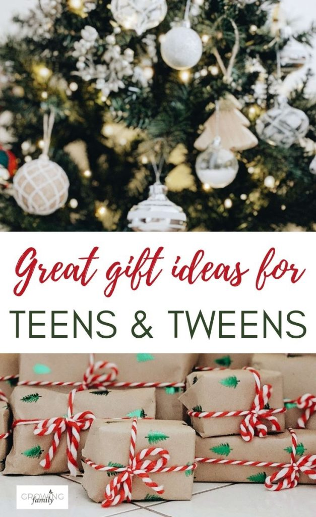 Looking for gifts for tweens and teens? This gift guide has lots of inspiring gift ideas to help you shop for this tricky age.