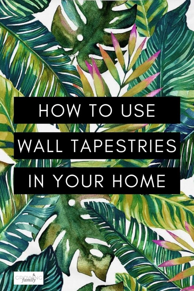 Have you ever considered using a wall tapestry instead of a traditional art print?  Here's why wall tapestries might be perfect for your home.