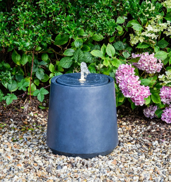 outdoor elite round water feature