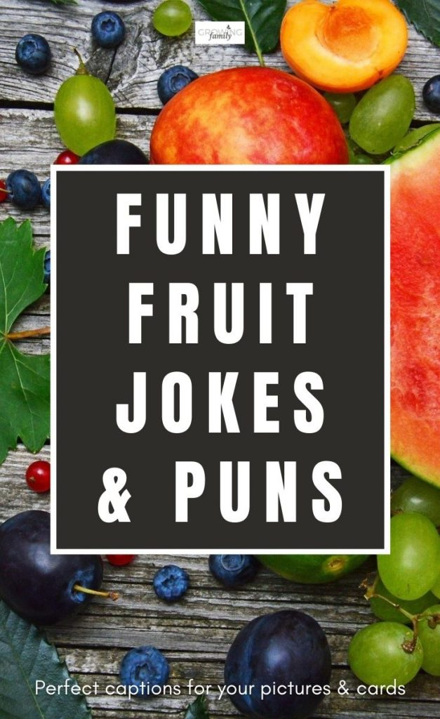 Are you looking for some light-hearted fun with a fruity theme?  These family-friendly fruit puns and fruit jokes are just pear-fect!