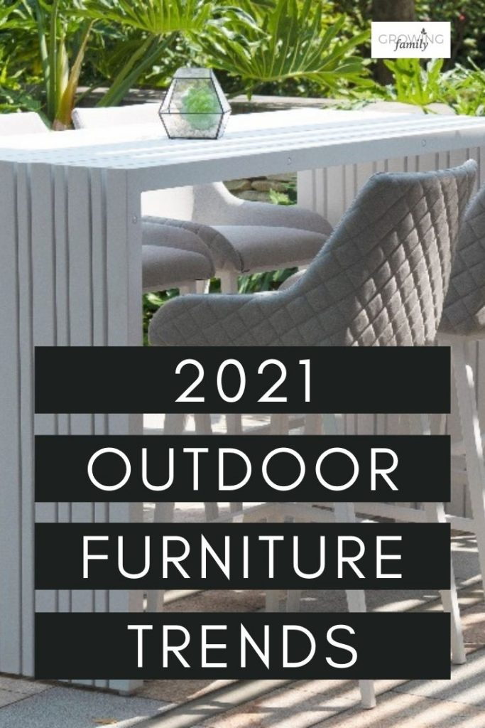 Shopping for outdoor furniture? This guide to the key outdoor furniture trends for 2021 will help to inspire your shopping.