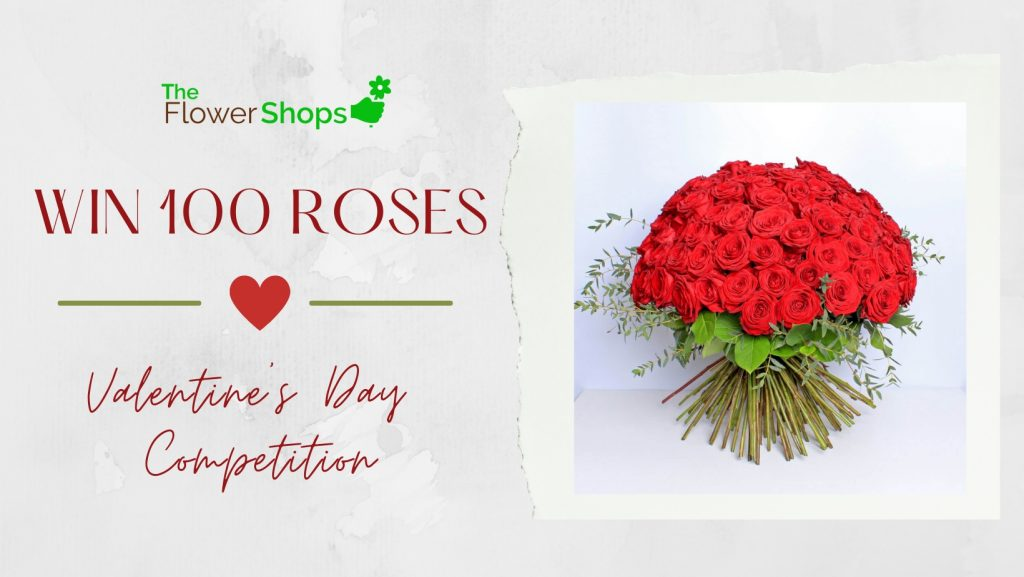 The Flower Shops valentine's day flower competition