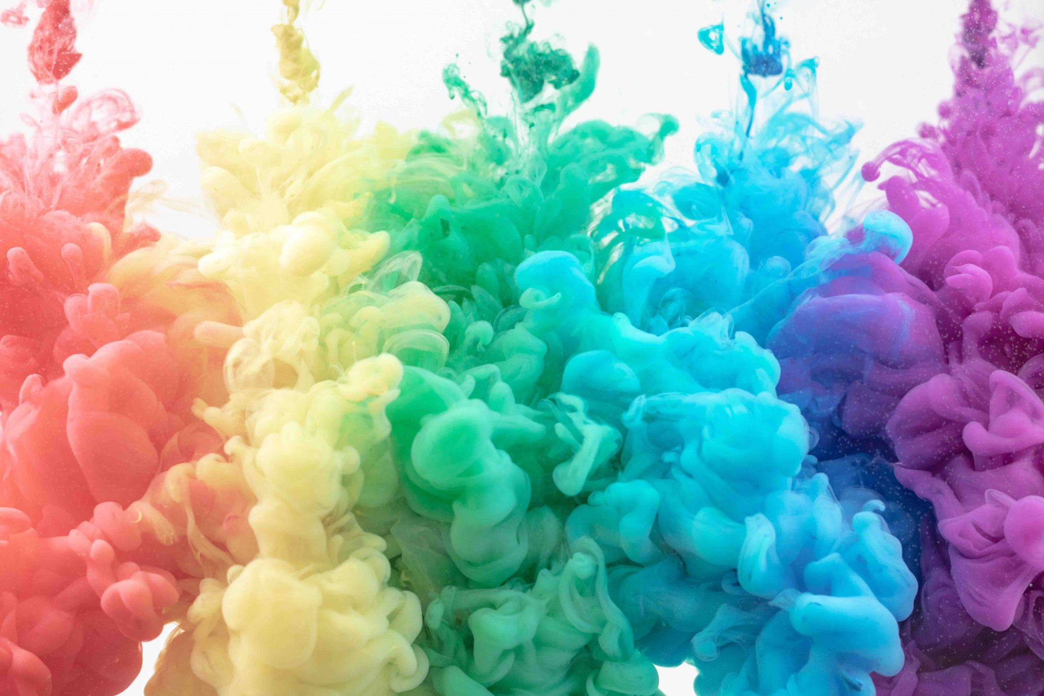 Make a rainbow density jar with rubbing alcohol