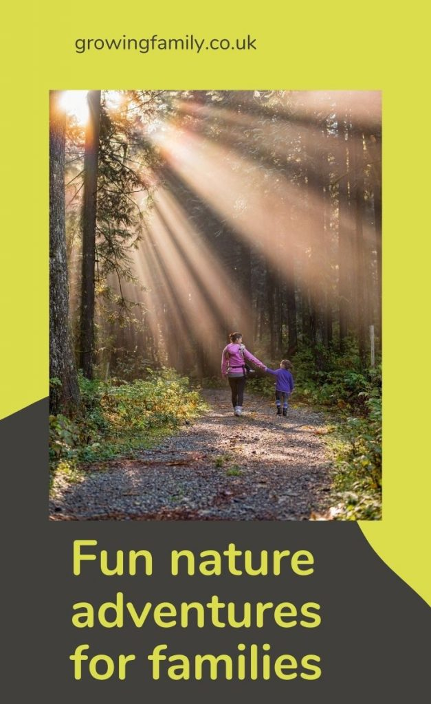 Inspiring ideas and tips for family nature adventures to help you spend fun time together exploring all that nature has to offer.