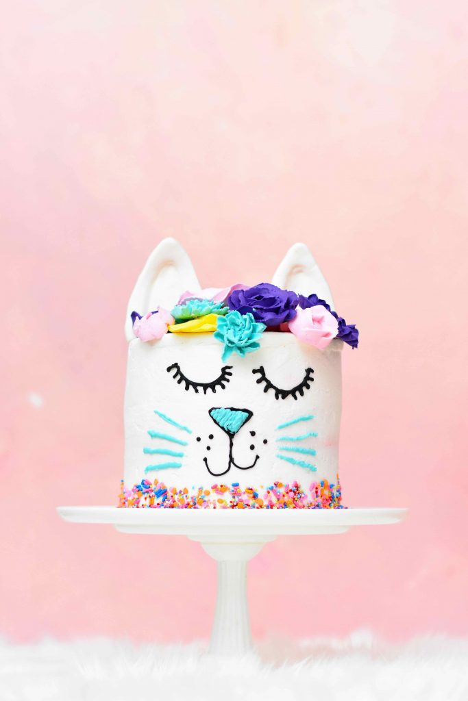 cat birthday cake for sweet tooth fans