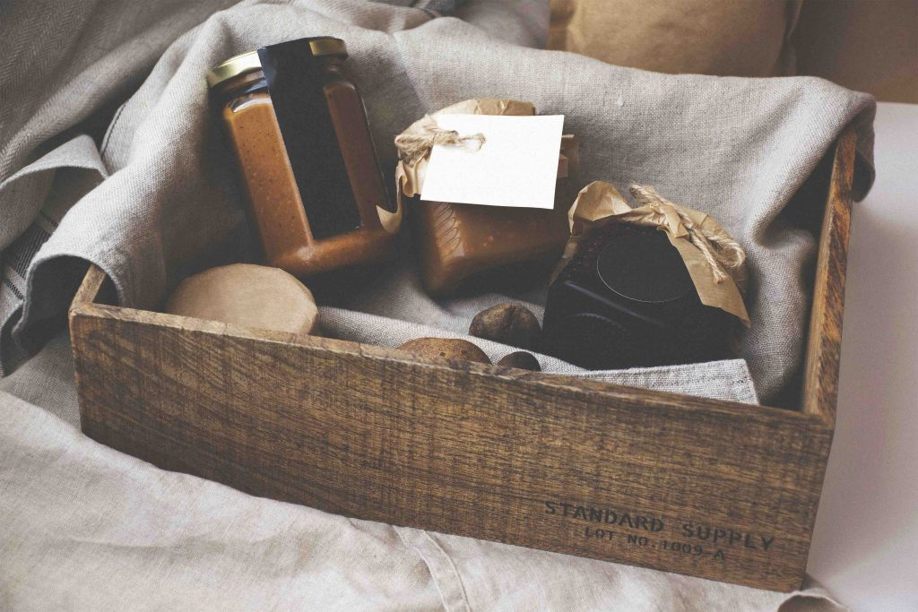 food gift crate