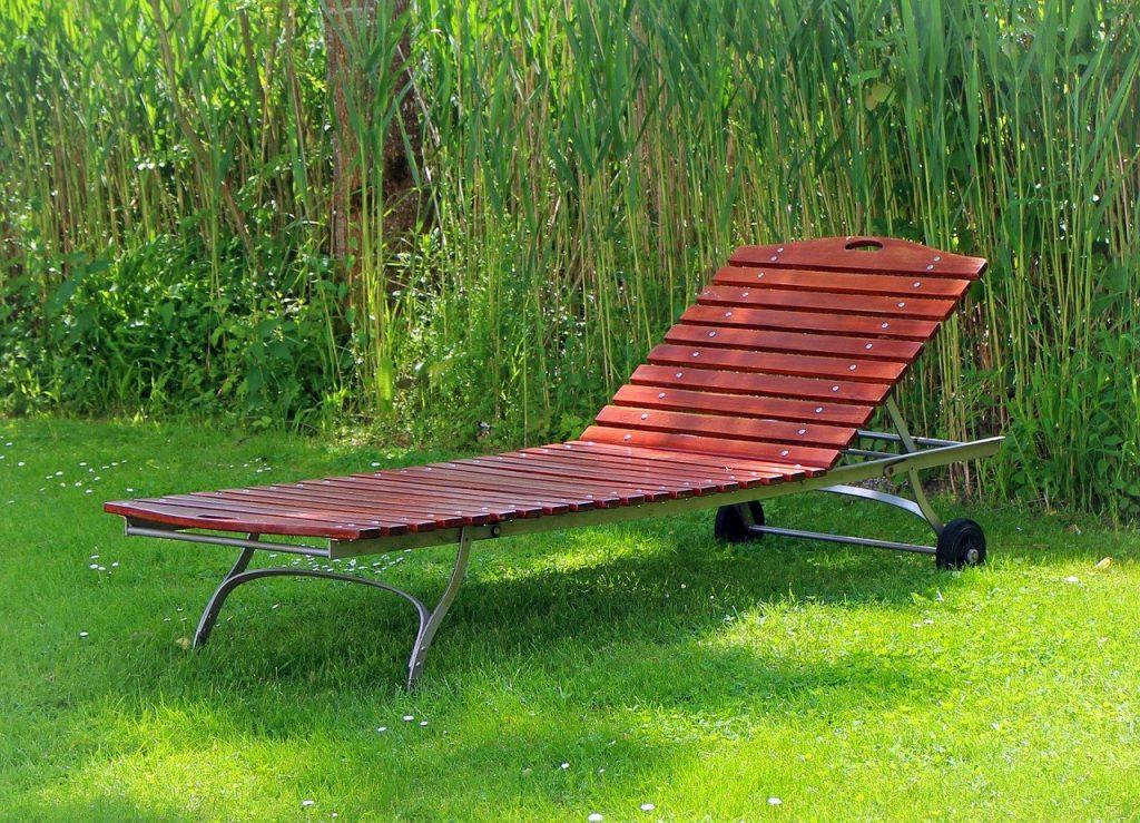 garden sun lounger