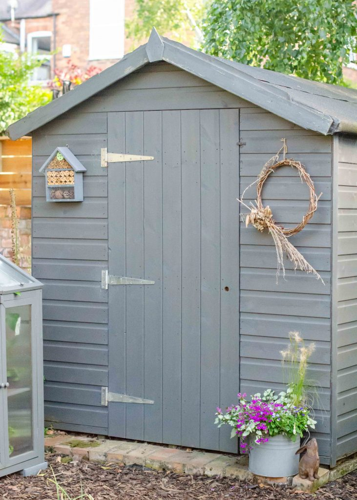 get your garden ready for summer by tidying the shed
