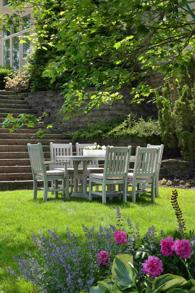 get your garden ready for summer by cleaning outdoor furniture