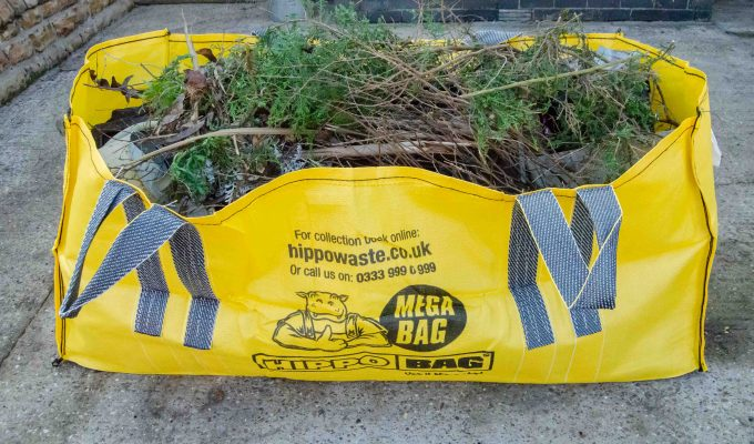 Using a skip bag: HIPPOBAG waste collection service review