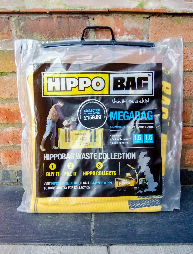 hippobag megabag in packaging