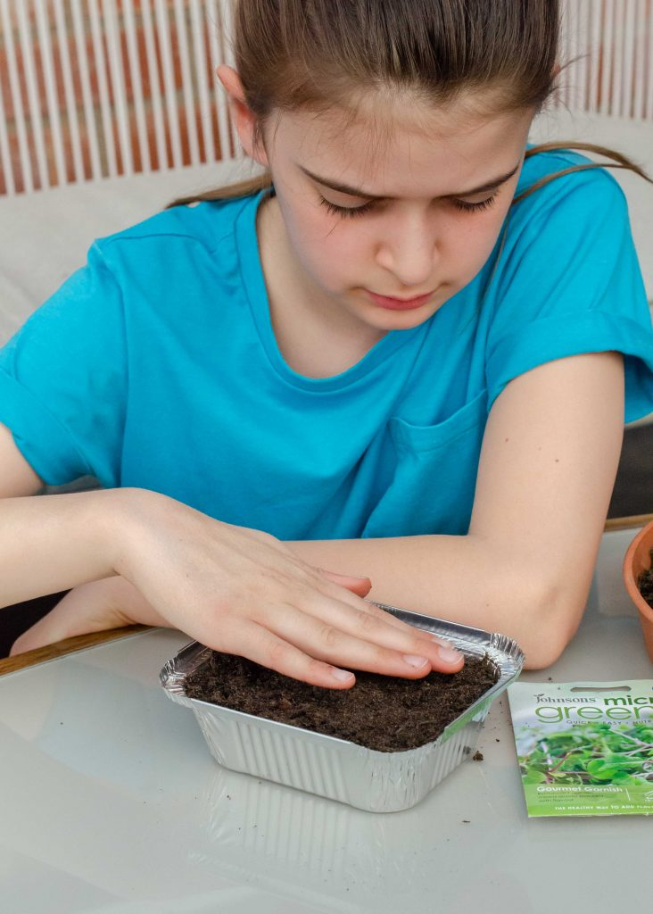 gardening with children - the best microgreens to grow