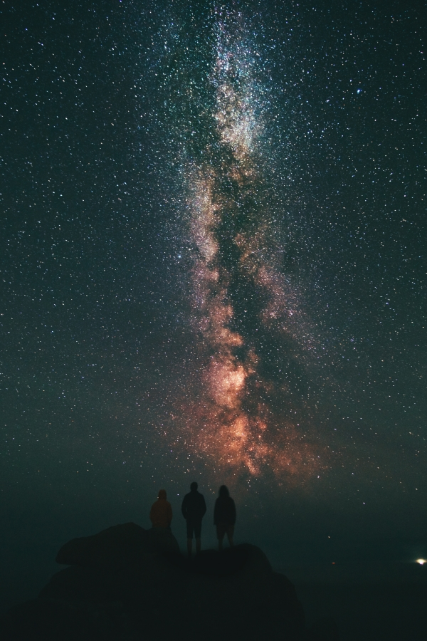 night sky constellations image for nature captions