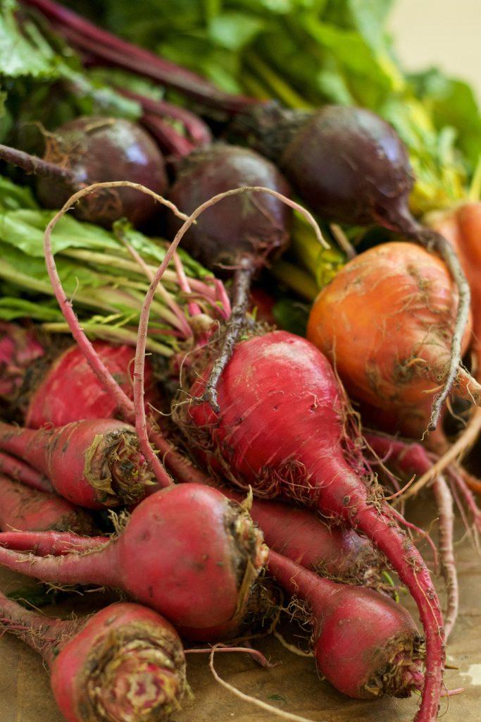 easy vegetables to grow in pots - beetroot