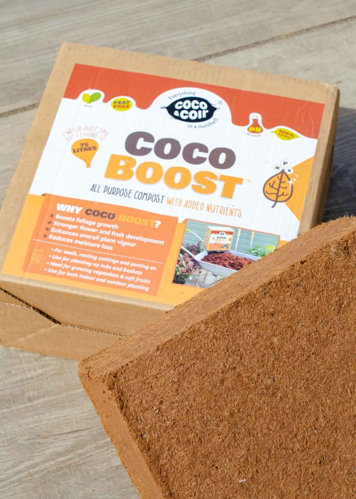 Coco & Coir Coco Boost coco coir brick