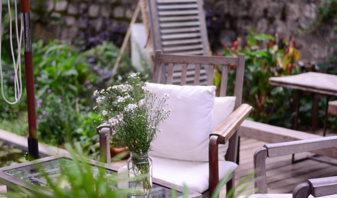 Composite decking ideas for small gardens