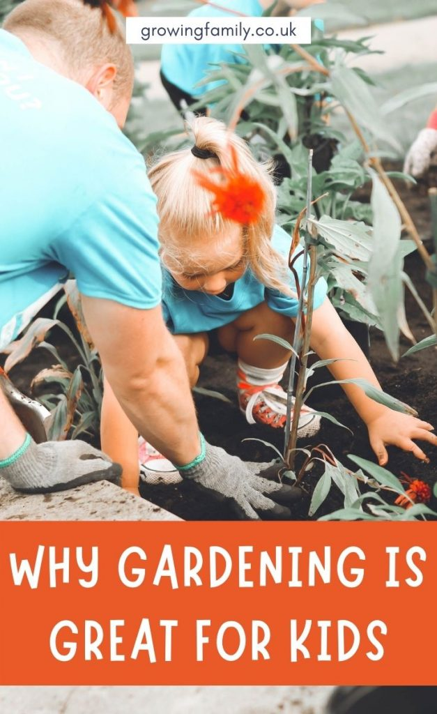 There are so many reasons why gardening with children is a great idea.  Take a look at this list of the key benefits of gardening for kids.