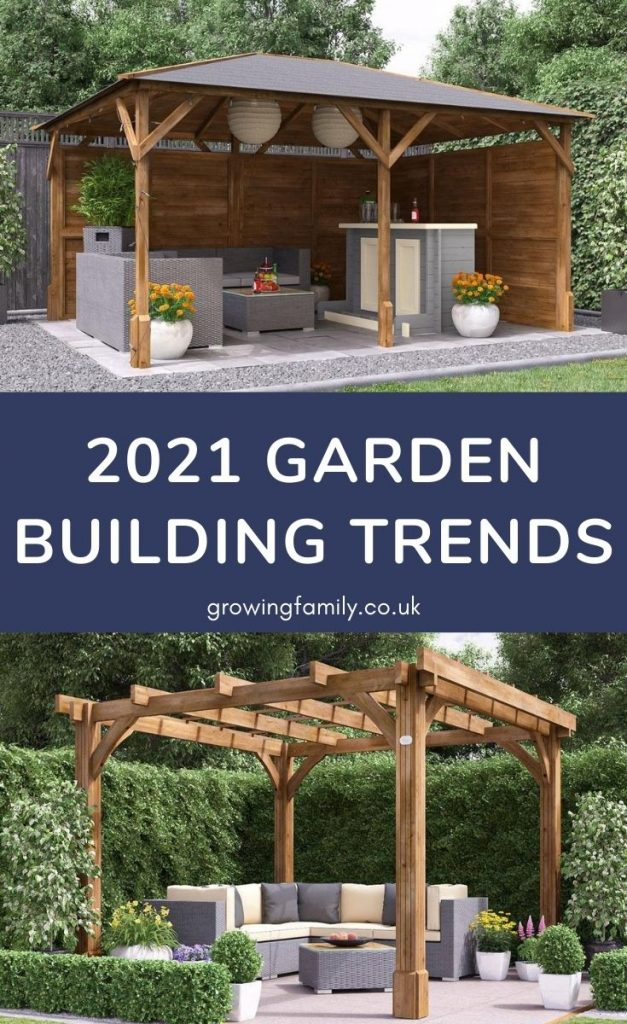 Looking for ideas on how to make the most of your outdoor space?  This guide to the latest garden building trends is a great place to start.